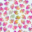 MULTICOLOURED ROSES by Robyn Hoddell