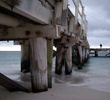 Jurien Bay - Jetty at dusk by Daniel Fitzgerald
