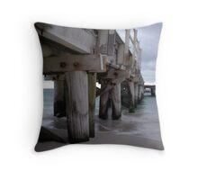 Jurien Bay - Jetty at dusk Throw Pillow