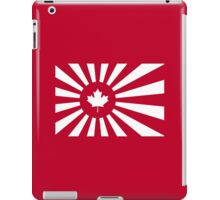 Japan / Canada Flag Mashup iPad Case/Skin