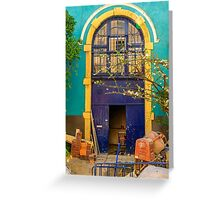 Renovation project in Lisbon Greeting Card