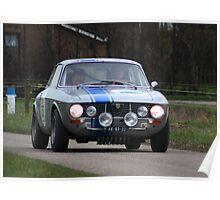 Alfa Romeo Rally Poster