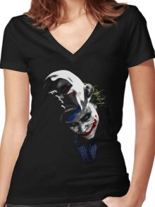The Unmasking Women's Fitted V-Neck T-Shirt