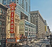 Chicago Theatre Street  by Kadwell