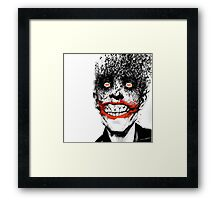 The Bat and The Clown Framed Print