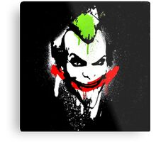 Joker Graffiti Metal Print