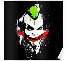 Joker Graffiti Poster