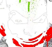 Joker Graffiti Sticker