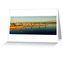 Take a Long Ride off a Short Pier Greeting Card