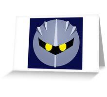 Meta Knight Greeting Card