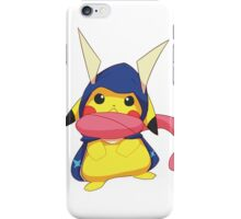 Pikachu with Greninja hoodie iPhone Case/Skin