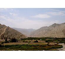 Mountainous Peru Photographic Print
