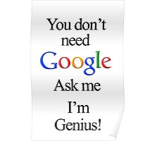 I'm Genius Poster