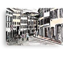 Italian Streets Canvas Print