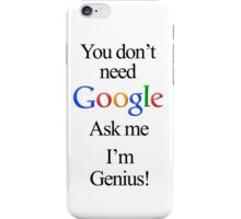 I'm Genius iPhone Case/Skin