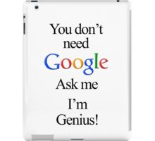 I'm Genius iPad Case/Skin