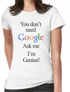 I'm Genius Womens Fitted T-Shirt