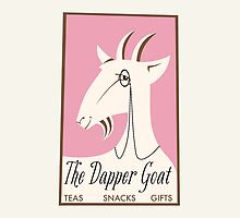 The Dapper Goat - Teas Snacks Gifts by bindertwine