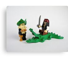 Pirate Figures Canvas Print