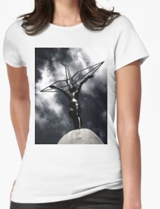 Children's Peace Monument Womens Fitted T-Shirt