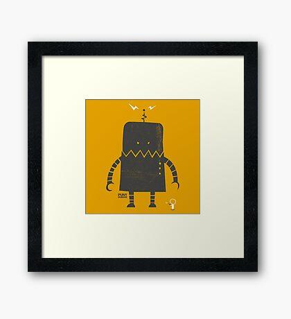 Puny Humans Framed Print