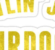 Battlin' Jack Murdock Sticker