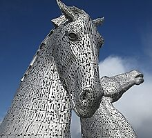The Kelpies (1) by MagsWilliamson