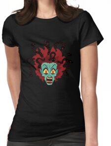 Medusa the Gorgon Womens Fitted T-Shirt