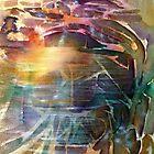 Cavern Abstract by Allison Ashton