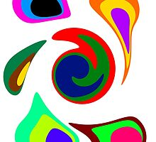 Crazy Colorful Circles! by Uncle McPaint