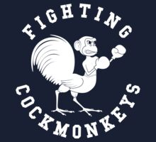 Fighting Cockmonkeys T-Shirt