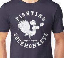 Fighting Cockmonkeys Unisex T-Shirt