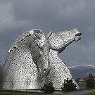 The Kelpies (3) by MagsWilliamson
