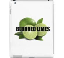 Blurred Limes iPad Case/Skin