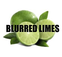 Blurred Limes Photographic Print