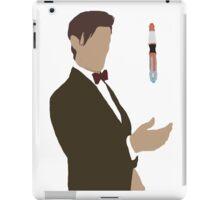 Doctor Who- Matt Smith 11th Sonic  iPad Case/Skin