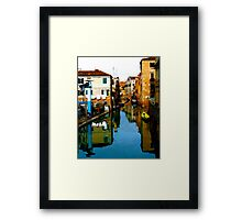 REFLECTIVE VENICE Framed Print