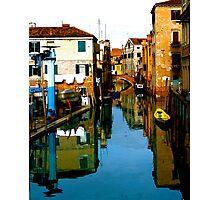 REFLECTIVE VENICE Photographic Print