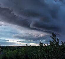Angry Sky by Teresa Zieba