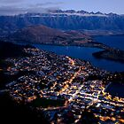 Queenstown by Night by Jude Glenn