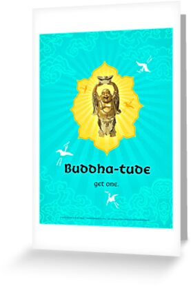 Buddha-tude by AngiandSilas