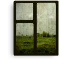 The Gloom Grows Green. Canvas Print