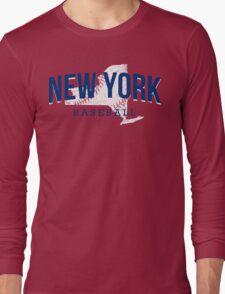 New York Baseball 2 Long Sleeve T-Shirt