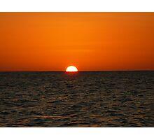 sunset... 1/2 half Photographic Print