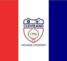 Flag of Cleveland  by abbeyz71