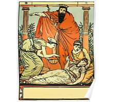 The Sleeping Beauty Picture Book Plate - That They The Child Might Bless Poster