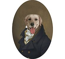 Formal Dog Photographic Print