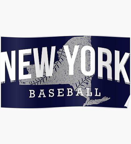 New York Baseball 3 Poster