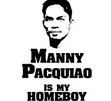 Manny IS My Homeboy by TrendingShirts