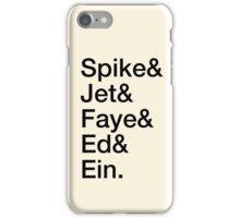 Bebop Crew iPhone Case/Skin